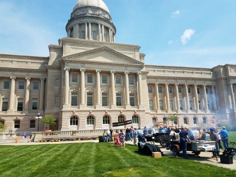 Governor's cookout on the Capitol Lawn in Frankfort