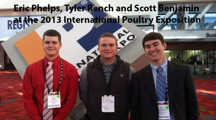 AG students attend International Poultry Exposition
