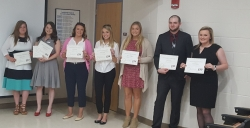 2017-18 Department of Agriculture scholarship recipients