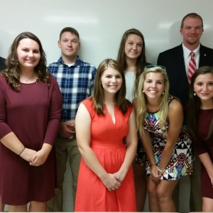 2016 Delta Tau Alpha Inductees