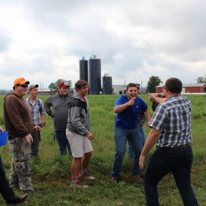 High school students participate in Farm Field Day