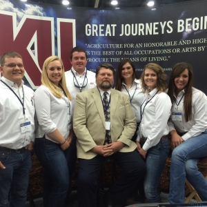 EKU AG Ambassadors with Dr. McDermott (center)