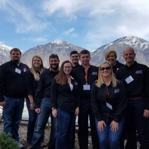 EKU students and faculty at the NCLC in Utah
